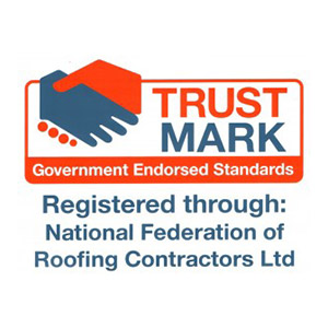 Trust mark registered logo